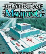 Platinum Mahjong J2ME Title screen