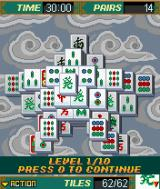 Platinum Mahjong J2ME A game with the superstar lay-out