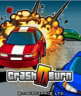Crash N Burn J2ME Title screen