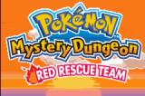 Pokémon Mystery Dungeon: Red Rescue Team Game Boy Advance Start Screen