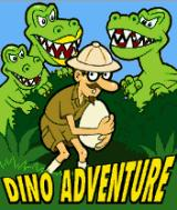 Dino Adventure J2ME Title screen