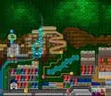 Ganbare Daiku no Gensan SNES World Map