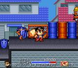 Ganbare Daiku no Gensan SNES That trashcan is alive