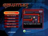 Gauntlet Xbox 360 The main menu