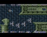 Necronom Amiga I'm avoiding a group of enemy fighters.