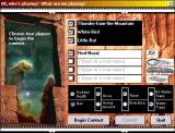 Anasazi Tasholiiwe Windows The main menu, where you can choose players and options.