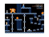 Donkey King TRS-80 CoCo The 3rd level (elevators)