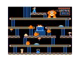 Donkey King TRS-80 CoCo The 4th level (Conveyors)