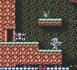 Blaster Master: Enemy Below Game Boy Color Entering a cave system