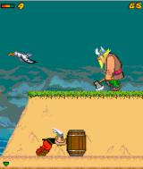 Astérix and the Vikings J2ME Solve puzzles by pushing objects.