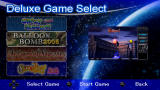 Taito Legends: Power-Up PSP Deluxe Game Select menu screen