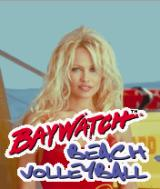 Baywatch Beach Volleyball J2ME Title screen