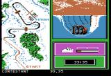 Winter Games Apple II Event - Bob Sled.