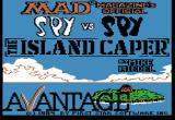 Spy vs. Spy: The Island Caper Apple II Title screen.