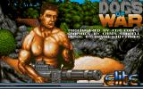 Dogs of War Atari ST Main loading screen