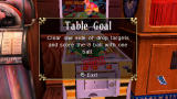 "Pinball Hall of Fame: The Gottlieb Collection PSP Table goal - when you activate this goal, one of tables becomes ""Free play"" and you don't need credit to play it."