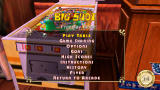 Pinball Hall of Fame: The Gottlieb Collection PSP Table menu