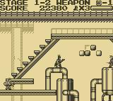 Batman: The Video Game Game Boy Chemical Factory