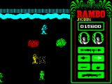 Rambo: First Blood Part II ZX Spectrum Hopefully this river & fence will end soon