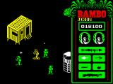 Rambo: First Blood Part II ZX Spectrum I'm finally right inside the enemy camp