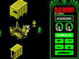 Rambo: First Blood Part II ZX Spectrum Destroying every single house in range