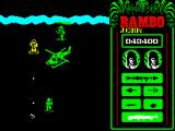 Rambo: First Blood Part II ZX Spectrum Army helicopter is prepared only for me