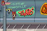 The Powerpuff Girls: Him and Seek Game Boy Advance Amusing grafitti litters the subway