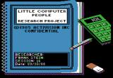 "Little Computer People Apple II Day in a life of ""Frank Stein""..."