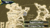 The Legend of Heroes II: Prophecy of the Moonlight Witch PSP World map