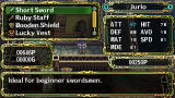The Legend of Heroes II: Prophecy of the Moonlight Witch PSP Shop screen