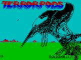 Terrorpods ZX Spectrum Loading screen