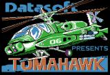 Tomahawk Apple II Title screen.