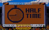 World Class Soccer Atari ST Looks more like three-quarters time