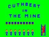 Cuthbert in the Mines Dragon 32/64 Title screen