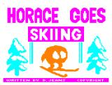 Horace Goes Skiing Dragon 32/64 Loading screen