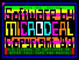 Microdeal had two loading screens. This is the one without Cuthbert