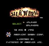 Silkworm NES Title screen