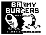 Barmy Burgers Dragon 32/64 Loading screen