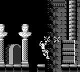 Dr. Franken II Game Boy about to fall...