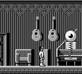Dr. Franken II Game Boy Giant bouncing eyeball playing the piano