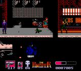 The Punisher NES Blood in a Nintendo game? The punisher shoots down his foe