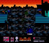 The Punisher NES Enemies leap out from the water