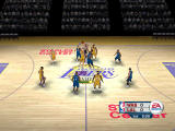 NBA Live 06 Windows Opening tip-off