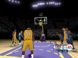 NBA Live 06 Windows Kwame Brown shooting free throws