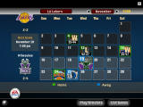 NBA Live 06 Windows The Schedule of games