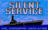 Silent Service Atari ST Title screen