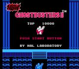 New Ghostbusters II NES Press start button
