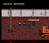 New Ghostbusters II NES Select your busters