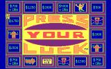 Press Your Luck DOS Title screen