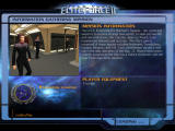 Star Trek: Elite Force II Windows Each mission begins with a mission briefing. Some levels such as this one allow the player to just walk around and talk with some of the Starfleet personnel.